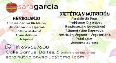Herbolario Sara García